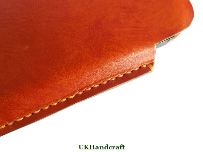 Leather IPhone compatable Cases Sleeves Handmade in Great Britain by UKHandcraft