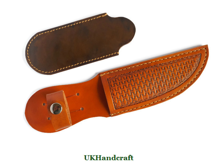Leather Knife Slip and Sheaths Handmade in Great Britain by UKHandcraft