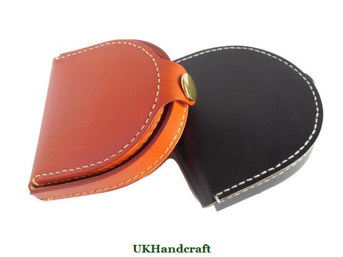 Leather Coin Wallet by UKHandcraft