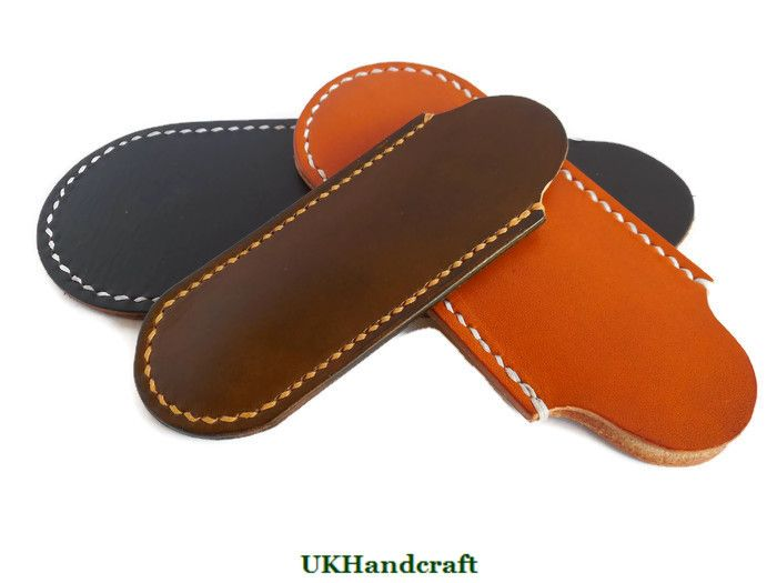 Handmade Leather Knife Slips and Sheaths by UKHandcraft