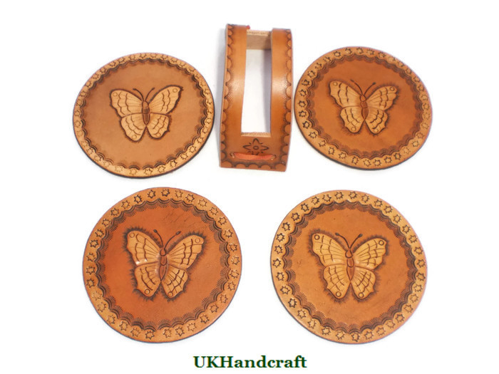 Handmade Leather Wedding Anniversary Gifts by UKHandcraft